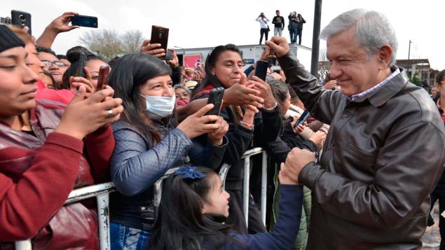 López Obrador inicia entrega universal de Pensión para el Bienestar de las Personas Adultas Mayores