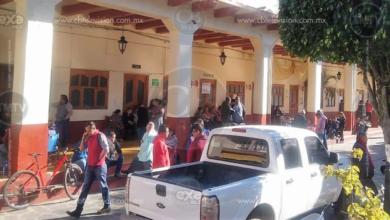 Maestros toman Rentas y alcaldía, de Chilchota