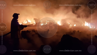 Se registra fuerte incendio en LC