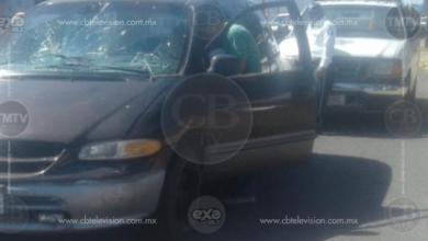 Adolescente herido al ser impactado por una camioneta