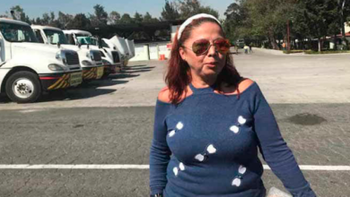Carmen, la primera mujer contratada como chofer de pipa