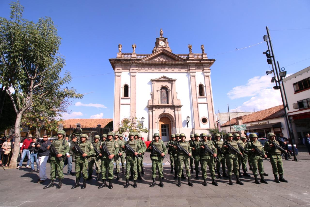 """Arrancó programa """"Construcción de Paz en Uruapan"""""""