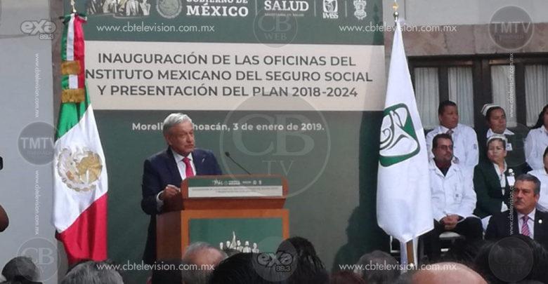 En 2 años, federalización de los servicios de Salud: AMLO
