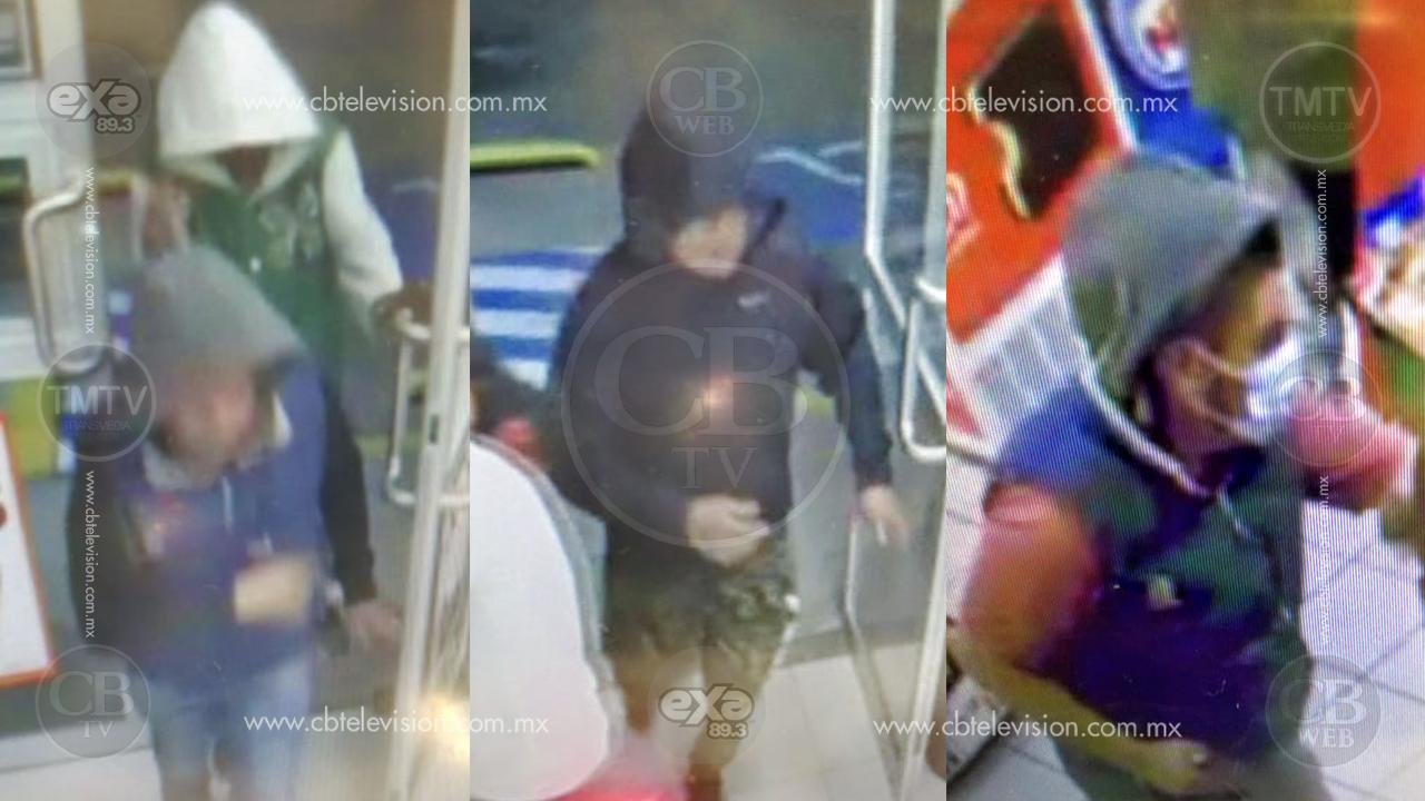 Buscan a asaltantes que operan en diferentes puntos de Morelia