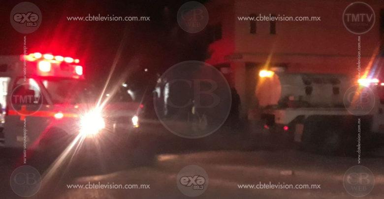 Se incendia domicilio deshabitado en centro de Apatzingán