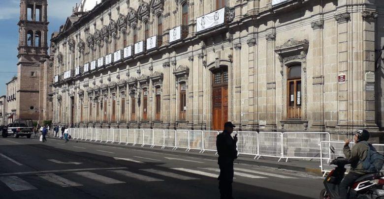 Alistan Palacio Federal para recibimiento de AMLO