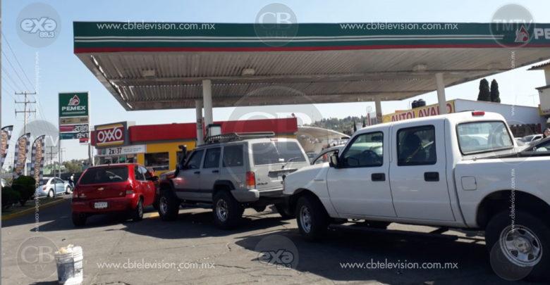 Reporta Protección Civil Morelia, saldo blanco en gasolineras