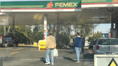 ¿Y la gasolina?
