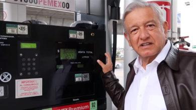 AMLO: Si hay aumento en la gasolina, sería por la inflación