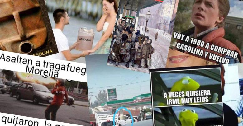 Mexicanos ven al mal tiempo buena cara, los mejores memes del desabasto de gasolina