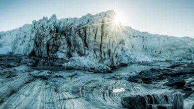 Tras derretimiento de glaciar descubren paisajes que estuvieron escondidos por 40 mil años