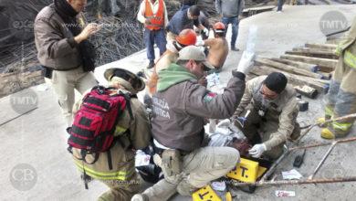 Se derrumba obra en construcción en San Juan de Los Lagos, hay ocho heridos