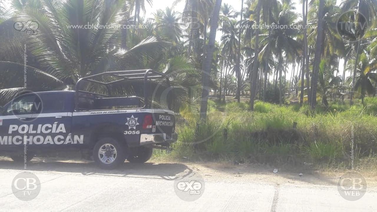 Encuentran cadáver maniatado y baleado dentro de un vehículo abandonado