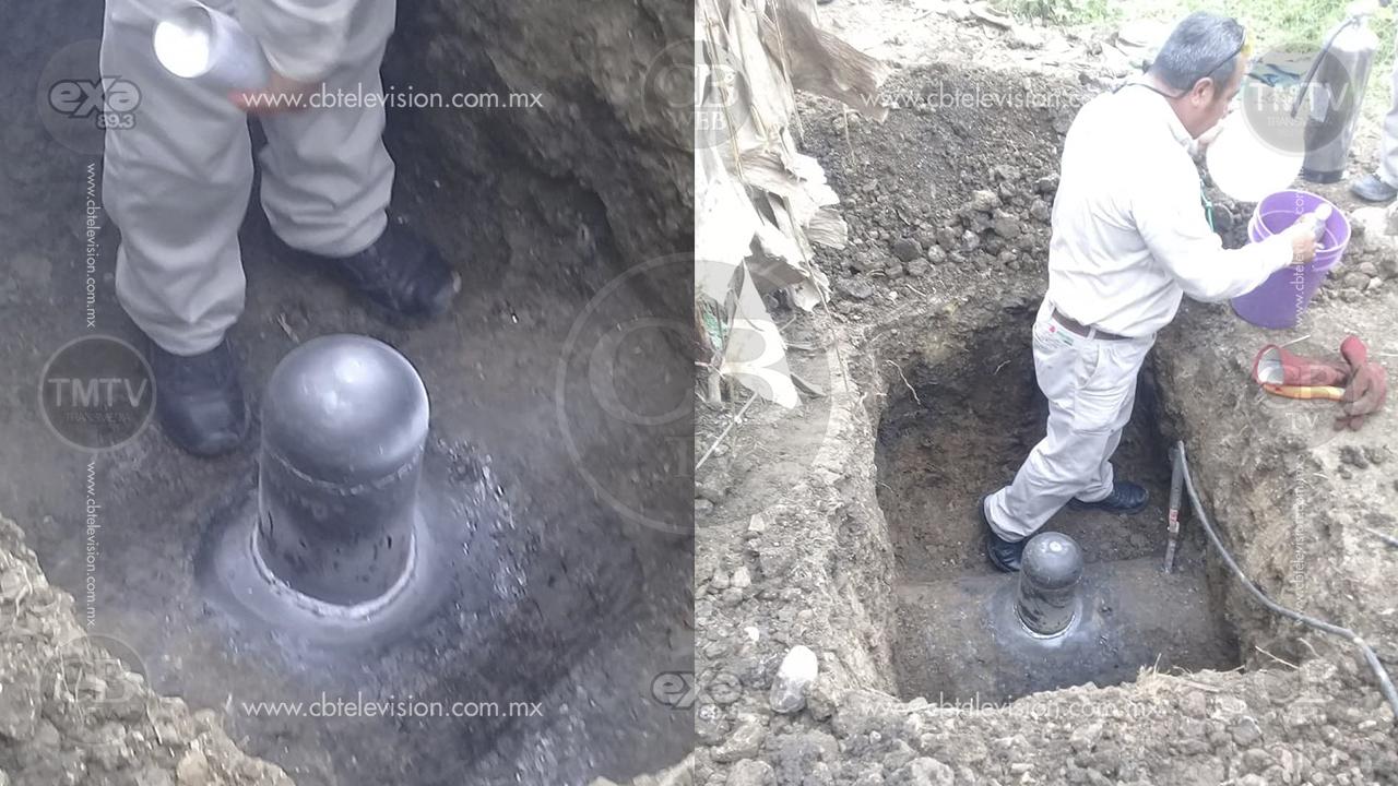 Encuentran otra toma clandestina en ducto de Pemex de Veracruz