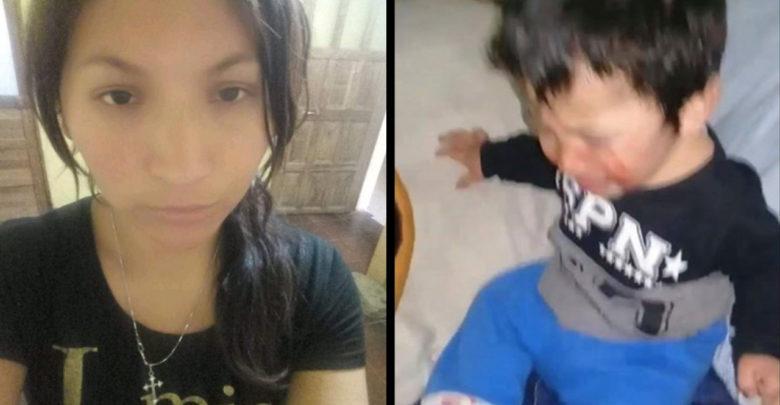 Por venganza mujer golpea a su hijo y le manda video a su expareja
