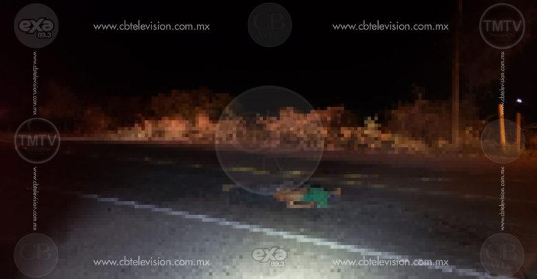 Hombre de la tercera edad fallece al ser atropellado por auto que se dio a la fuga