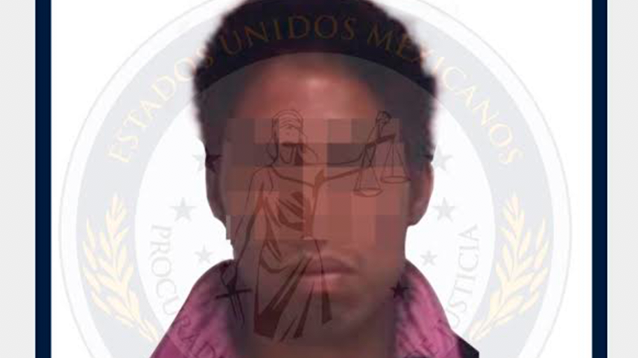 Él es el presunto feminicida de menor de 11 años; es hermano de su padrastro