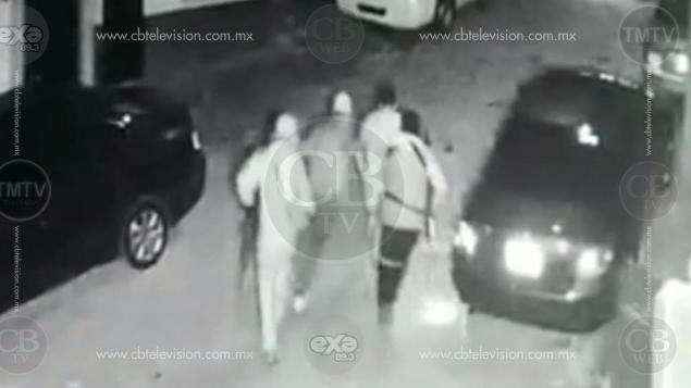 """Captan en vídeo a comando que """"levantó"""" a un hombre en Pátzcuaro y luego lo mató en Tzintzuntzan"""