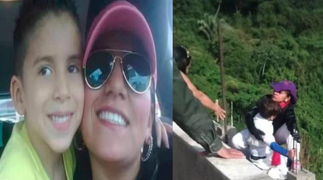 La mujer que se tiró de un puente con su hijo, estaba embarazada