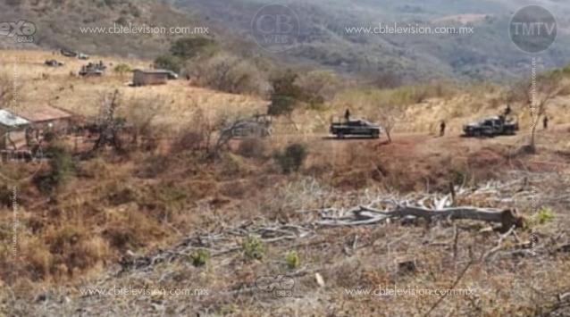 Localizan 5 cadáveres baleados que podrían ser los policías de Tuzántla