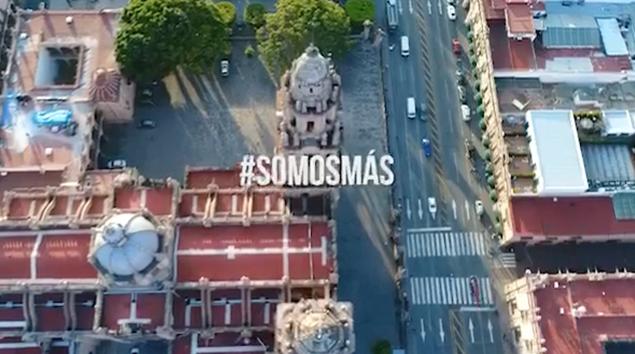 "VIDEO: Lanzan empresarios ""#somosmas"" en contra de ilegalidades en Michoacán"