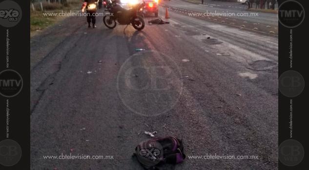 Mujer muere arrollada por varios autos en Ciudad Industrial de Morelia