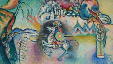 ¿Sabes qué pintor era considerado uno de los Cuatro Azules?