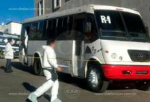 Chofer se ahorca dentro de camión Ruta 1 en Morelia