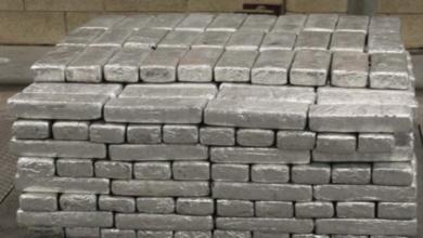 Decomisan 411 kg de metanfetamina en camión que transportaba fresas desde México