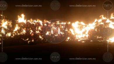 Incendio destruye al menos 10 mil pacas de rastrojo en Tarímbaro