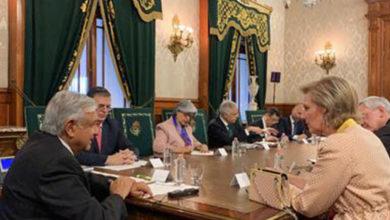 López Obrador recibe delegación económica de Bélgica encabezada por princesa Astrid