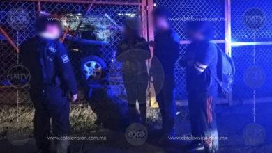 Ciudadano captura a asaltante en Salida Charo y lo entrega a la Policía