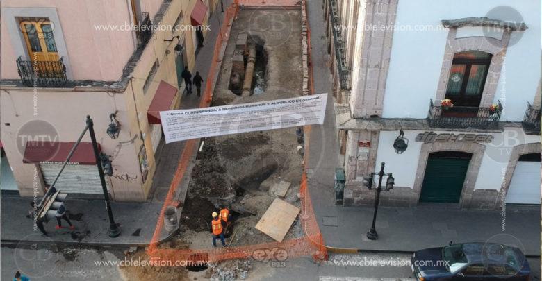 Permanecen lonas para Ayuntamiento de Morelia en Virrey de Mendoza