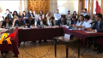 Amarran al Fiscal coordinadores de fracciones parlamentarias y gobernador