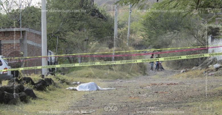"""Matan a balazos a """"El Mudo"""" en Ario de Rayón"""