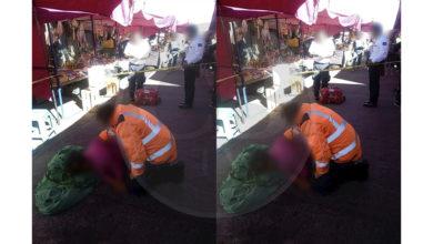Mujer pierde la vida mientras caminaba por un mercado de Morelia