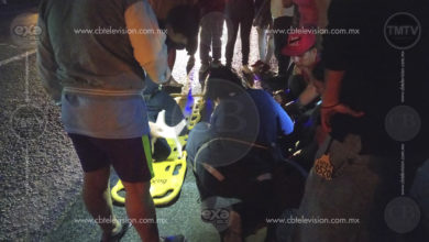 Vehículo atropella a ciclista y lo deja inconsciente en Tarimbaro