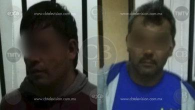 Detienen a dos sujetos que abrían vehículos en el centro de Morelia
