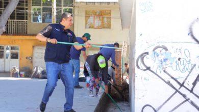 Rescata Sedesoh espacio público en la colonia Leandro Valle, de Morelia