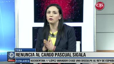 """Photo of CB Noticias el Amanecer 26 de Marzo. """"La Mesa de Debate"""" Tema: Renuncia al Cargo Pascual Sigala. Bloque 6-8"""