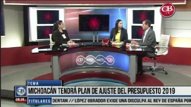 """Photo of CB Noticias el Amanecer 26 de Marzo.""""La Mesa de Debate"""" Tema: Michoacán tendrá Plan de Ajustes del Presupuesto 2019 Bloque 7-8"""