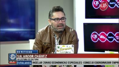 Photo of CB Noticias el Amanecer 29 de Marzo. Viernes de Lectura, por que la Lectura es Cultura con Salvador Chávez Bloque 7-8