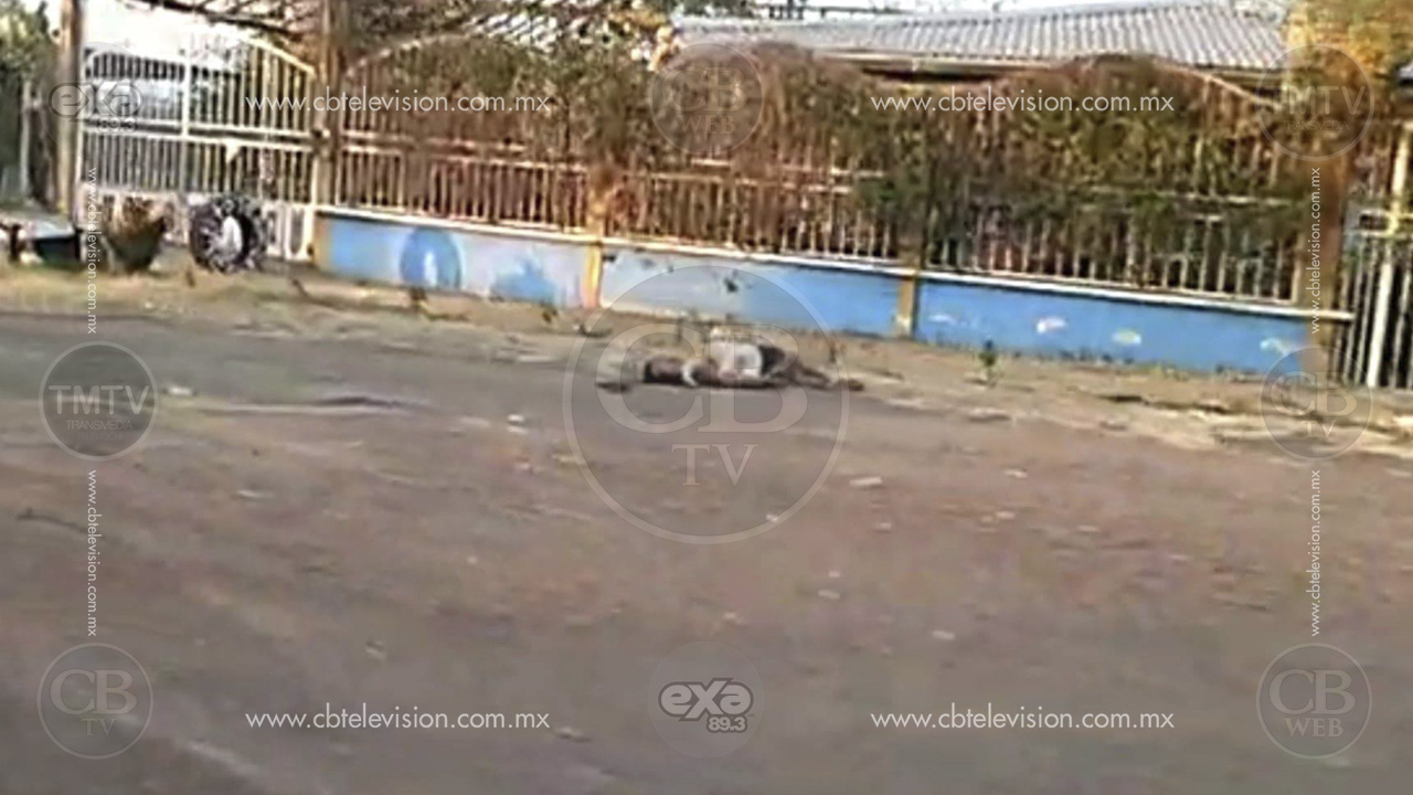 Localizan otro cadáver baleado sobre la carretera Buenavista-Apatzingán