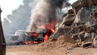 Se registra incendio de pipa en Milpa Alta; hay varios heridos
