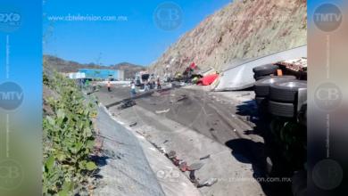 Choque de tráileres deja un muerto en la pista Cuitzeo-Pátzcuaro