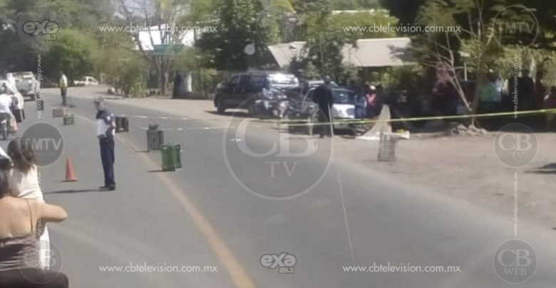 Localizan cadáver sobre la carretera Buenavista-Apatzingán