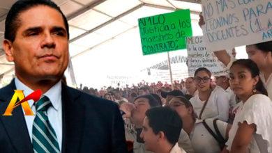 """Alejandro Moreno es un """"AMLITO"""" por su """"actitudes fascistas"""": Silvano Aureoles"""