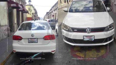 Encuentran en Morelia auto con reporte de robo con violencia en Estad de México