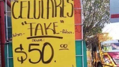 "Gente prevenida vale por dos, venden celulares ""falsos"" para burlar a los asaltantes"