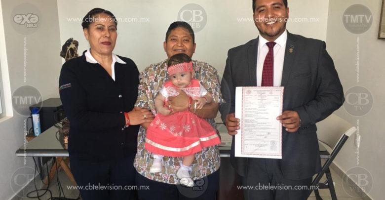 Ciudad Hidalgo: Se realiza primer registro de recién nacida por parte de un matrimonio igualitario
